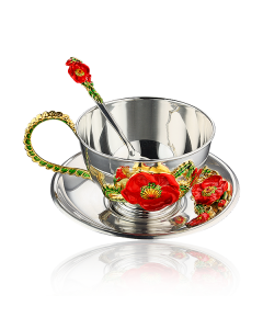 Серебряный чайный набор