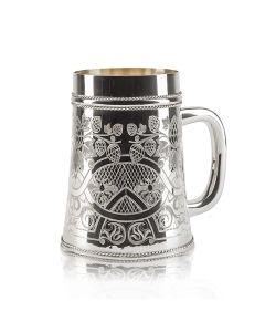 Пивная кружка из серебра