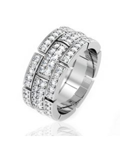 Золота обручка з цирконієм «Вічна любов»