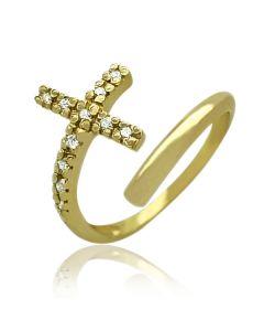 """Золотое кольцо """"Фиолент"""""""
