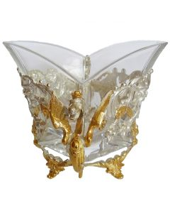 Конфетница из серебра «Дракон»