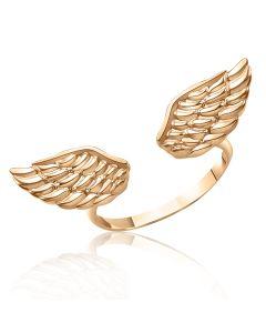 Золотое кольцо с крыльями