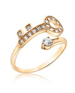 Золотое кольцо ключ