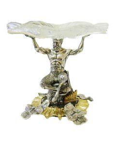 Срібна ваза «Сатир»