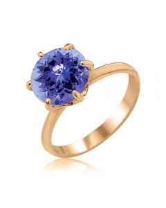 Золотое кольцо с танзанитом «My Tiffany»