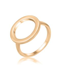 Золотое кольцо без камней «Range»