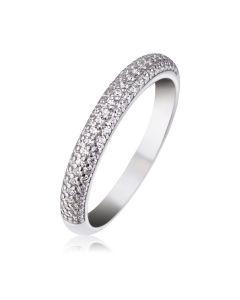 Кольцо с россыпью бриллиантов «Starfall»