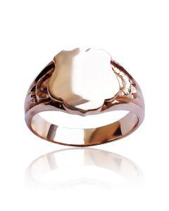 Золотой перстень без вставок