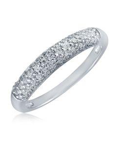 Каблучка золота з діамантами «Ірена»