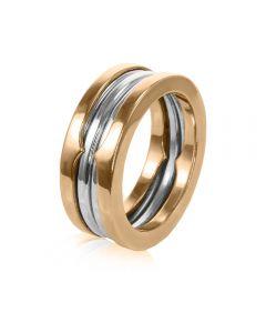 Обручальное кольцо из золота «Virginia»