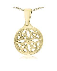 Кулон золотий без вставок «Кельтський».