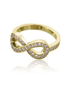 Каблучка золота «Нескінченність»