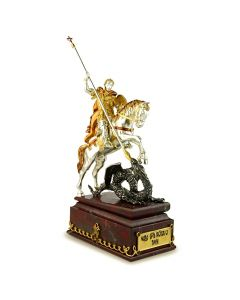 Срібна статуетка «Георгій Змієборець»