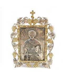 Ікона настільна «Святий благовірний князь Олександр Невський»