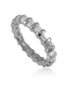 """Золотое обручальное кольцо с бриллиантами """"Whitney"""""""