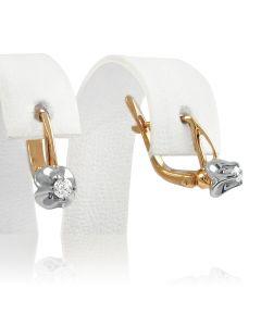 Золотые  серьги «Каролина»