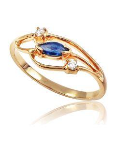 Золоте кільце «Лізетта»