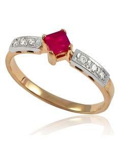 """Золотое кольцо """"Пламя"""""""