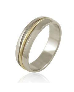 """Золотое обручальное кольцо """"Love-love"""""""
