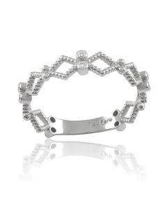 Золотое кольцо с бриллиантами «Гармония»