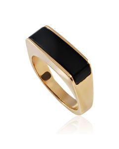 Золотой перстень с камнем