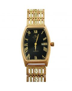 Золотые наручные мужские часы «Эффект»