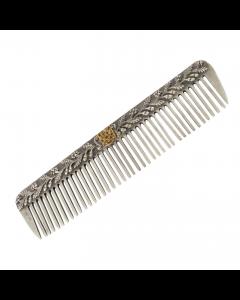 Серебряная расческа  «Герб»