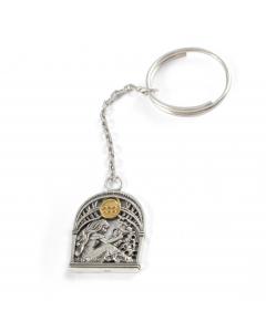 Срібний брелок «Водолій»