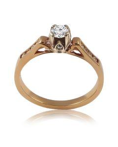 Женское кольцо с бриллиантами «Simona»