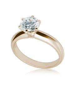 Кольцо с бриллиантом 0,5 карат «Мирабель»