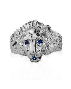 Золотий перстень з сапфірнами «Золотий лев»