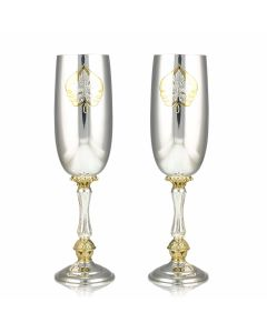 Набір келихів для вина «Кленовий лист»