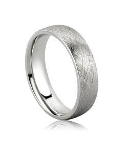 Золотые парные обручальные кольца без камней «Brush»
