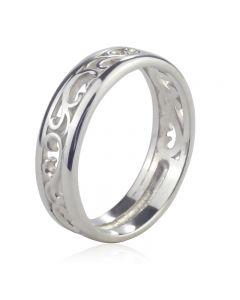 Обручальное ажурное кольцо «Савойя»