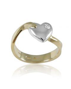 """Золотое кольцо """"Чистая любовь"""""""