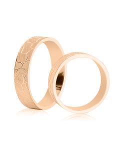 Обручальное кольцо с 3-D гравировкой «Grand»