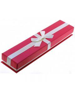 Футляр подарочный с бантом для браслета или цепочки
