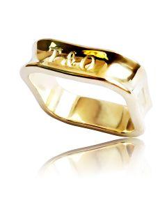 """Золотое кольцо """"Прекрасная Тиффани"""""""