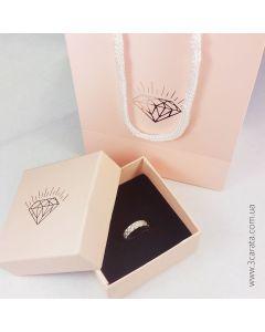 Эксклюзивная упаковка для золотых украшений «Pink»
