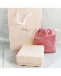 Эксклюзивная упаковка для ювелирных украшений «Pink»
