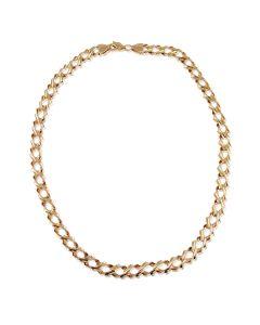 Золотая цепочка панцирного плетения «Original»