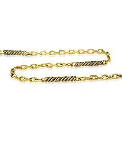 Золотий ланцюг кручений якір «Nikolaus»