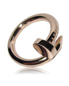 Золоте кільце зігнутий цвях «Від Картьє»