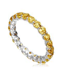 Золотое кольцо с цитринами «Marmalade»