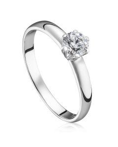 Кольцо на помолвку с бриллиантом «Диана»