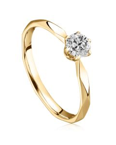 Помолвочное кольцо с бриллиантом 0,25 карат «Бриджит»