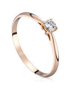Помолвочное кольцо с бриллиантом «Classic»
