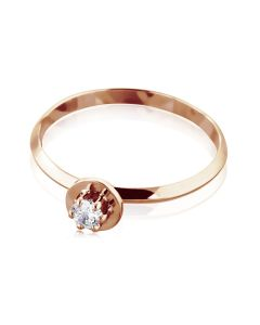 Женское недорогое кольцо с Сваровски «Алессандра»