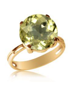 Золотое кольцо с крупным бериллом «Эдисса»