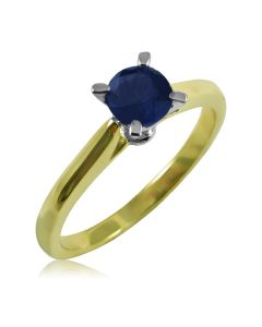Помолвочное кольцо с сапфиром 0,4 Ct «Naturel»